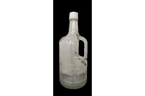 "Бутыль Кувшин 1,75л. Стеклянная бутылка для вина ""Изабелла"""