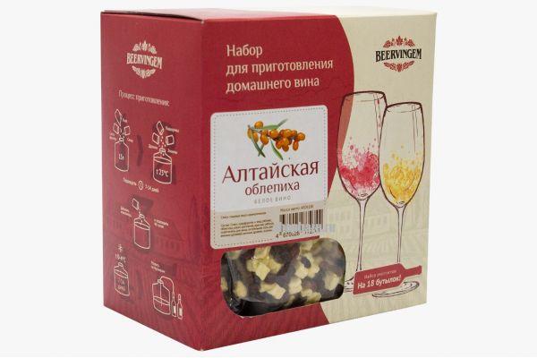 Набор для приготовления вина Beervingem Алтайская облепиха