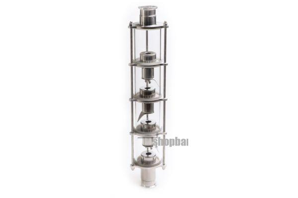 Колпачковая колонна для дистилляции с 8 уровнями очистки